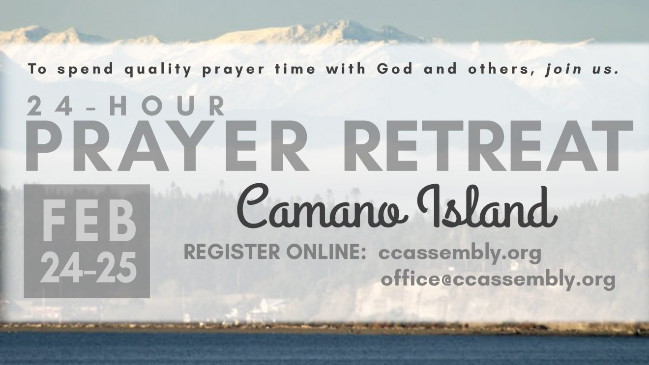 24-Hour Prayer Retreat in February