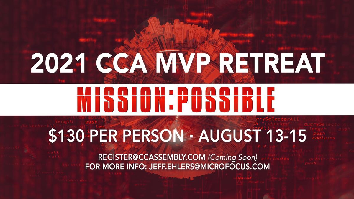 2021 CCA MVP Men's Retreat