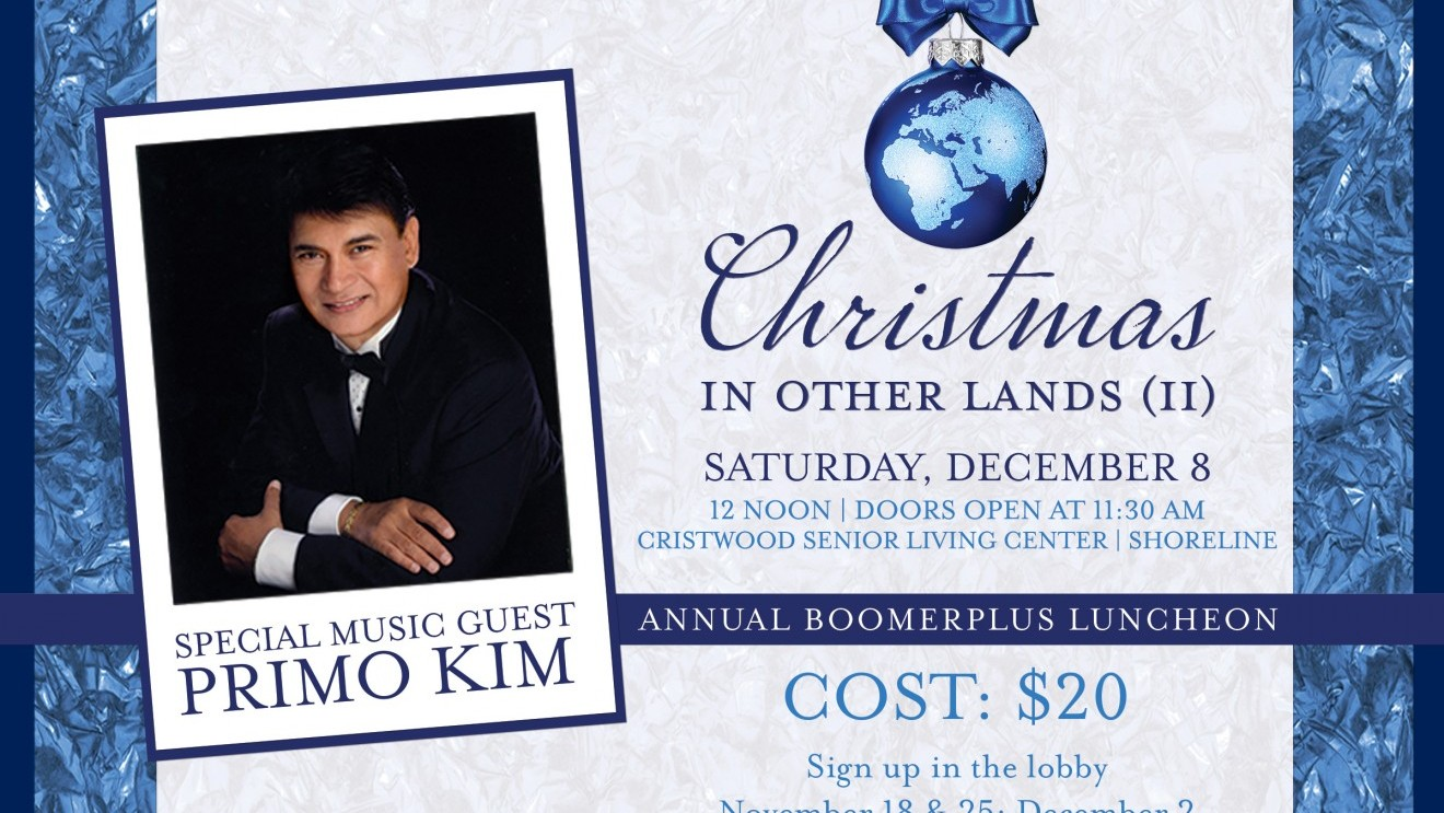 Christmas In Other Lands II - Boomers Luncheon