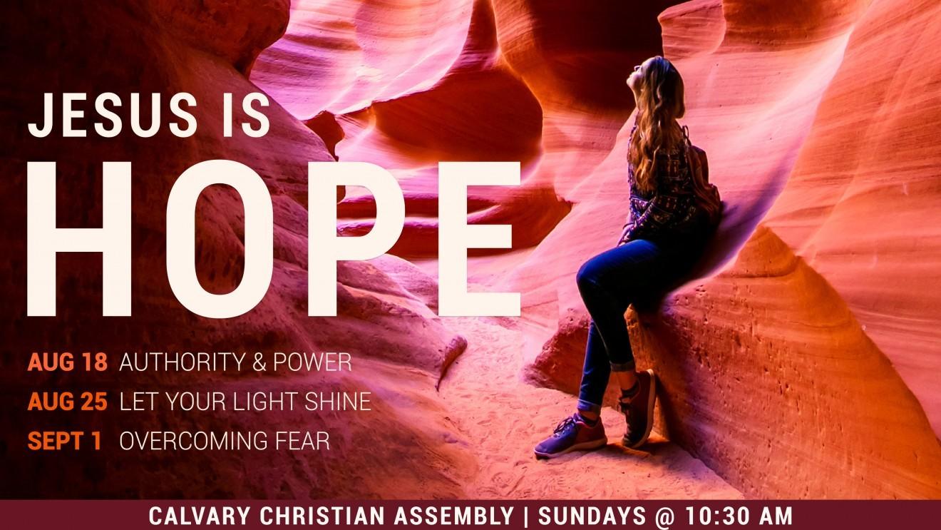 Jesus Is Hope