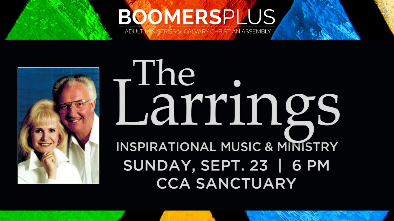Larrings in Concert September 23