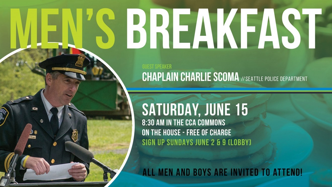 Men's Breakfast with SPD Chaplain Charlie Scoma