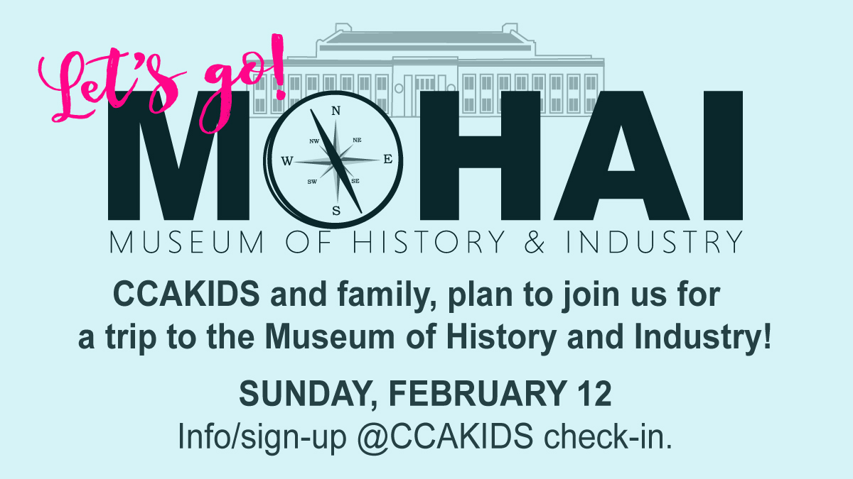 An Afternoon at the MOHAI with CCAkids & Families