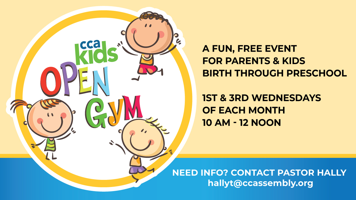 Parents & Preschoolers Open Gym Time