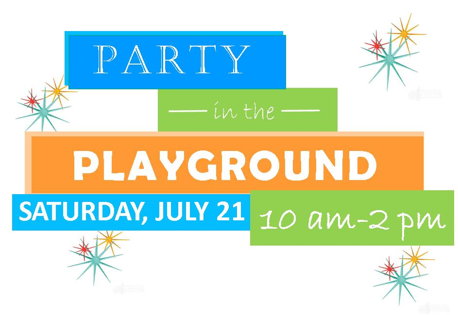 It's A Party in the Playground!