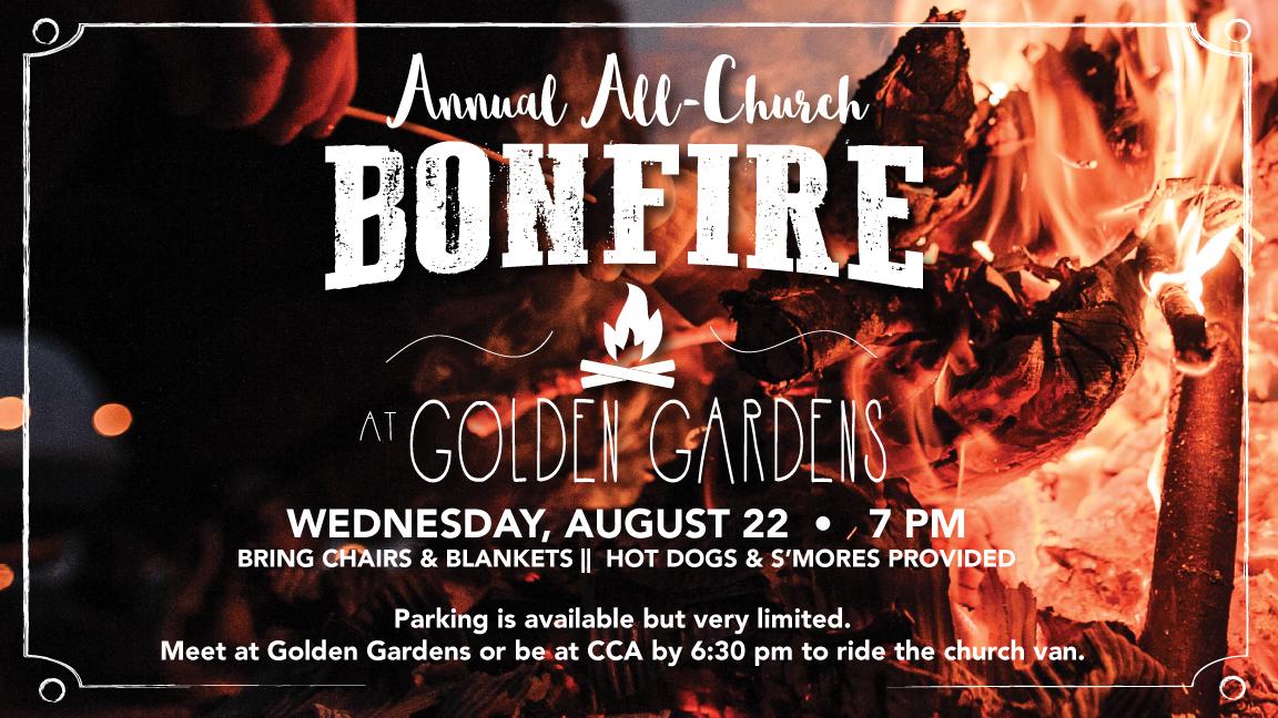 Golden Gardens Bonfire