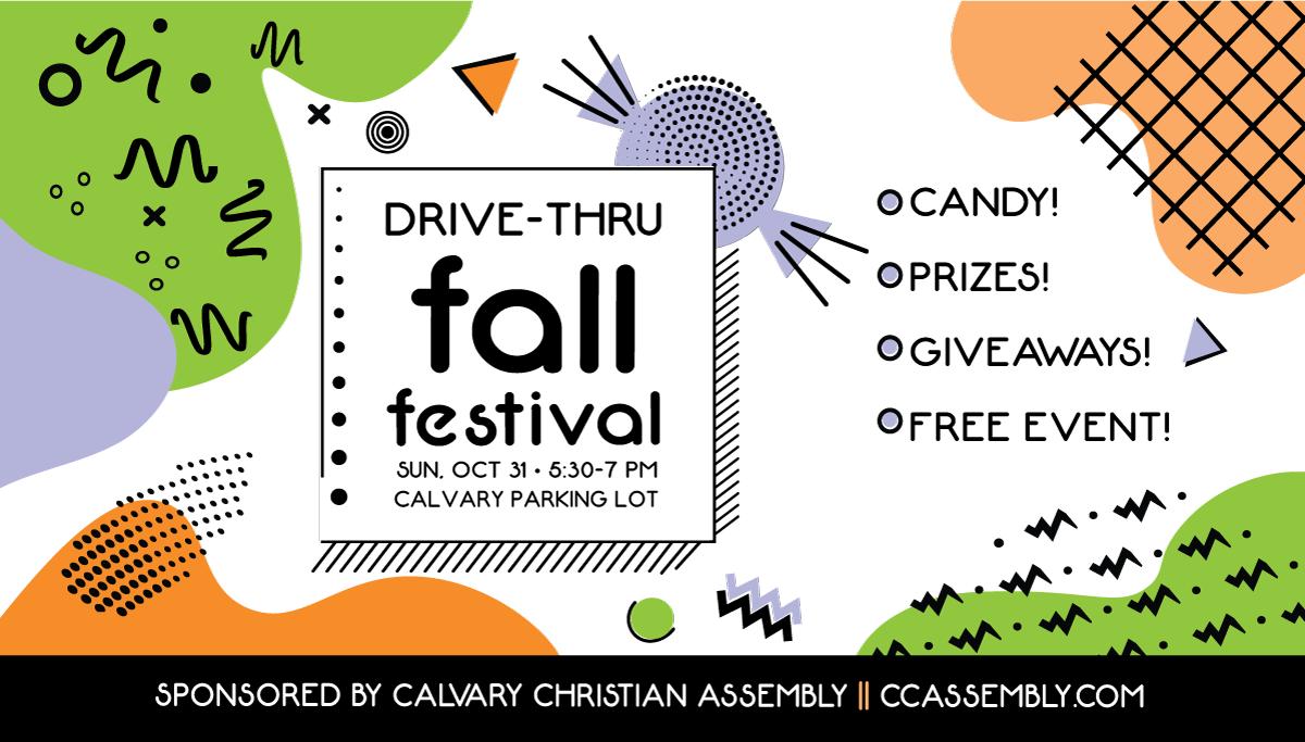 Drive Thru Fall Festival