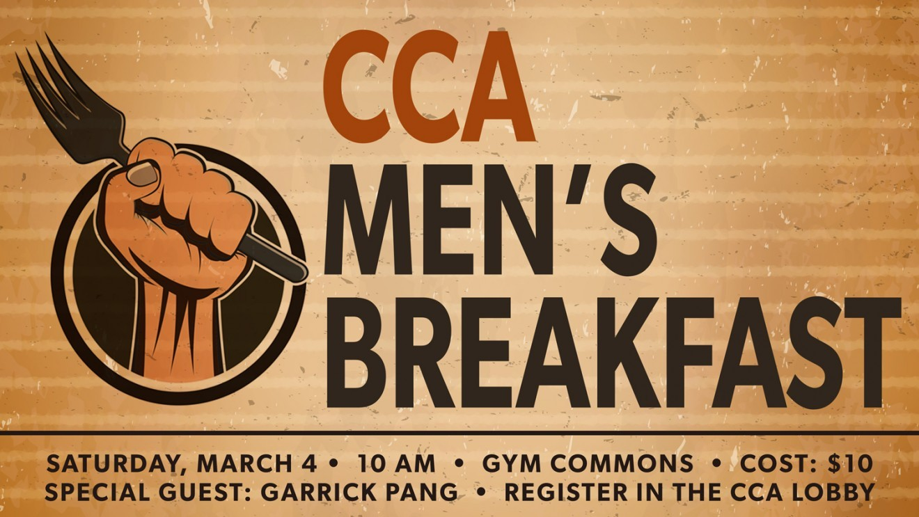 Men's Breakfast with Garrick Pang