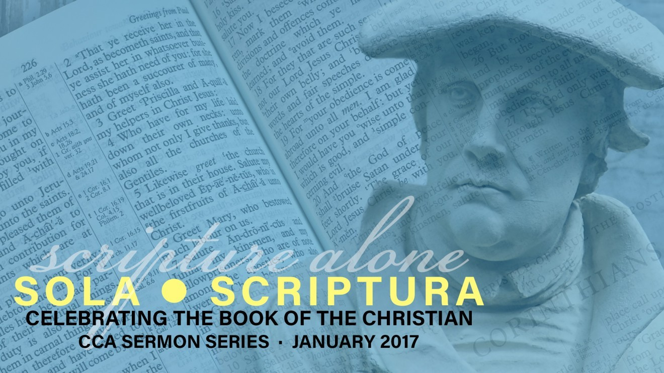 sola scriptura : Celebrating the Book of the Christian