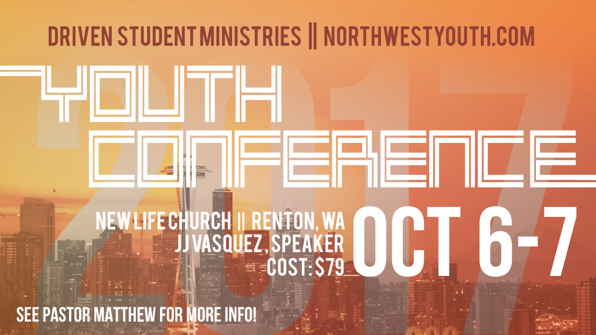 NW Youth Conference is Coming