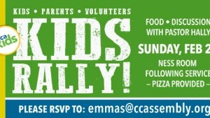 CCAkids Rally with Pastor Hally