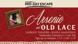 BoomersPlus Escape to Arsenic & Old Lace