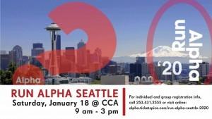Run Alpha Seattle Training
