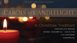 Carols by Candlelight - A Christmas Eve Tradition