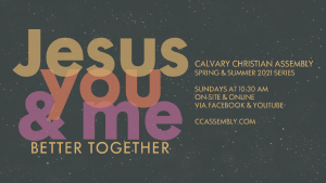 Jesus You and Me: Better Together