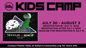 CCAkids Blast Off to Camp