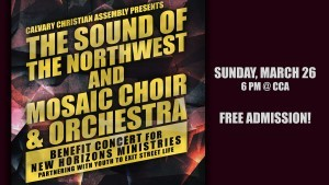 Mosaic Choir & Orchestra and Sounds of the Northwest In Concert