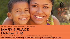 Mary's Place Women & Children Return to CCA
