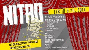Nitro Kids Conference Taking Off