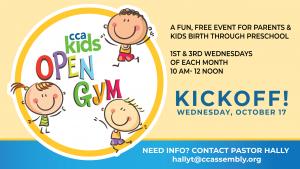 Parents & Preschoolers Open Gym Time