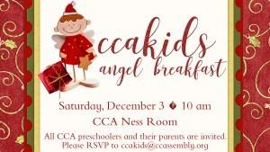 Angel Breakfast For Preschoolers