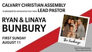 Meet the Bunburys - New Lead Pastor @ CCA