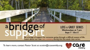A Bridge of Support- Care Ministry