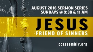 Jesus, Friend of Sinners