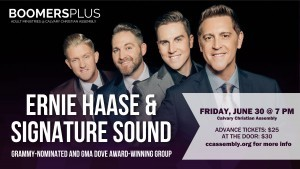 Ernie Haase & Signature Sound Coming to CCA