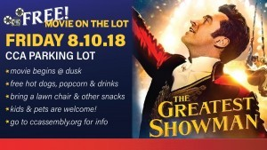 Movie On The Lot: The Greatest Showman