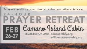 24-HOur Prayer Retreat