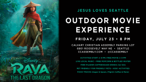 Outdoor Movie Experience - Raya & The Last Dragon