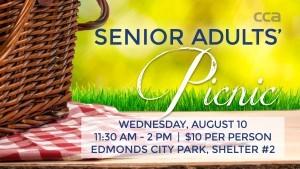 Seniors Picnic Time in Edmonds