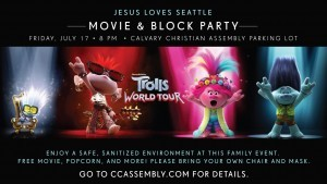 JLS Movie & Block Party