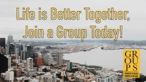 Make Plans Now to Join A Group