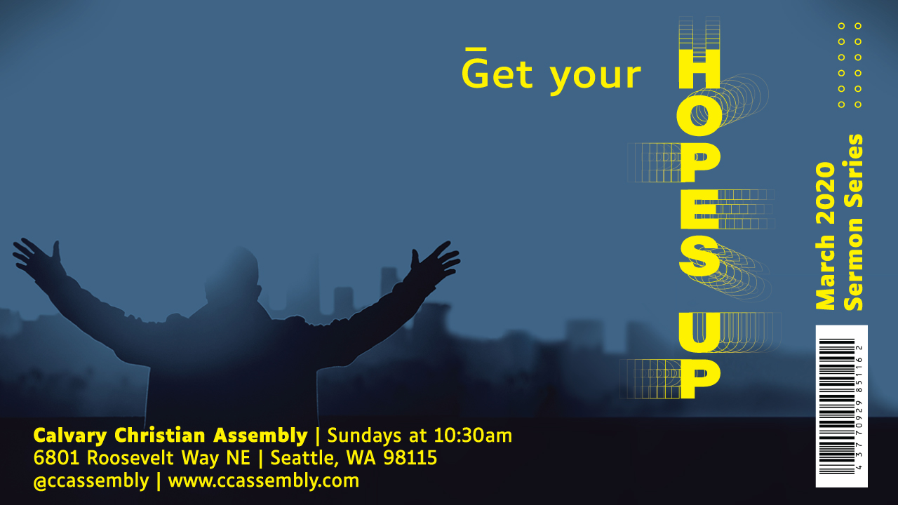 Get Your Hopes Up: Share Your Jesus Story with Seattle