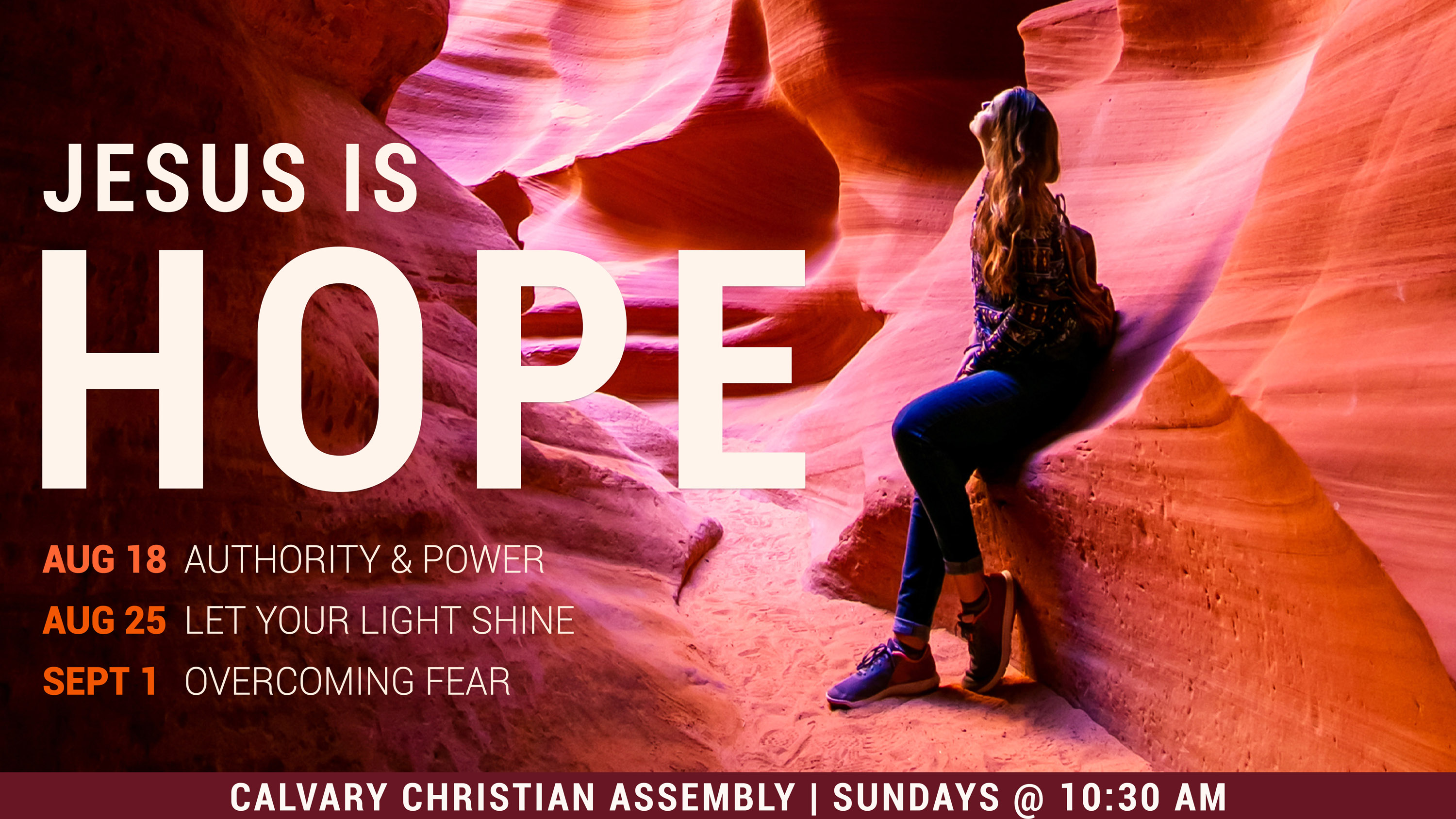 Jesus Is Hope: Let Your Light Shine