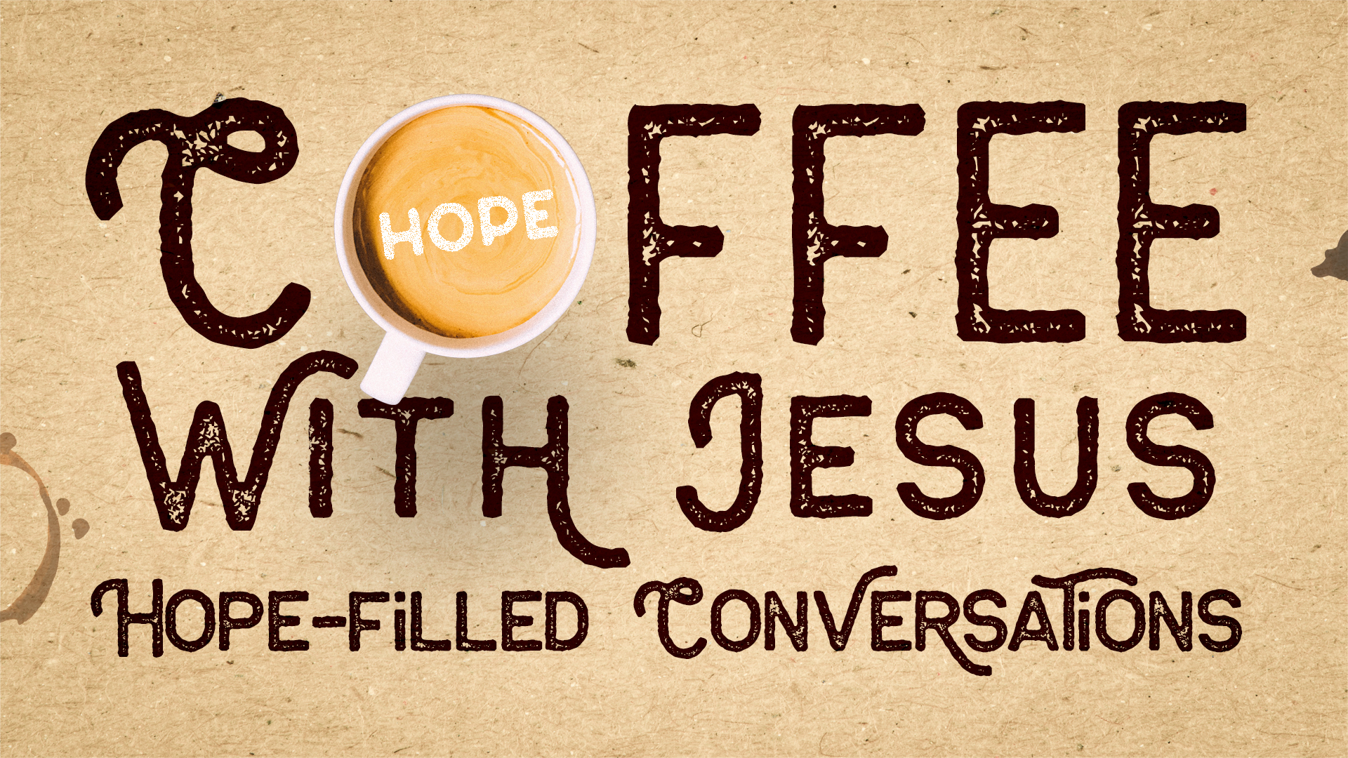 Coffee With Jesus: God's Compliments