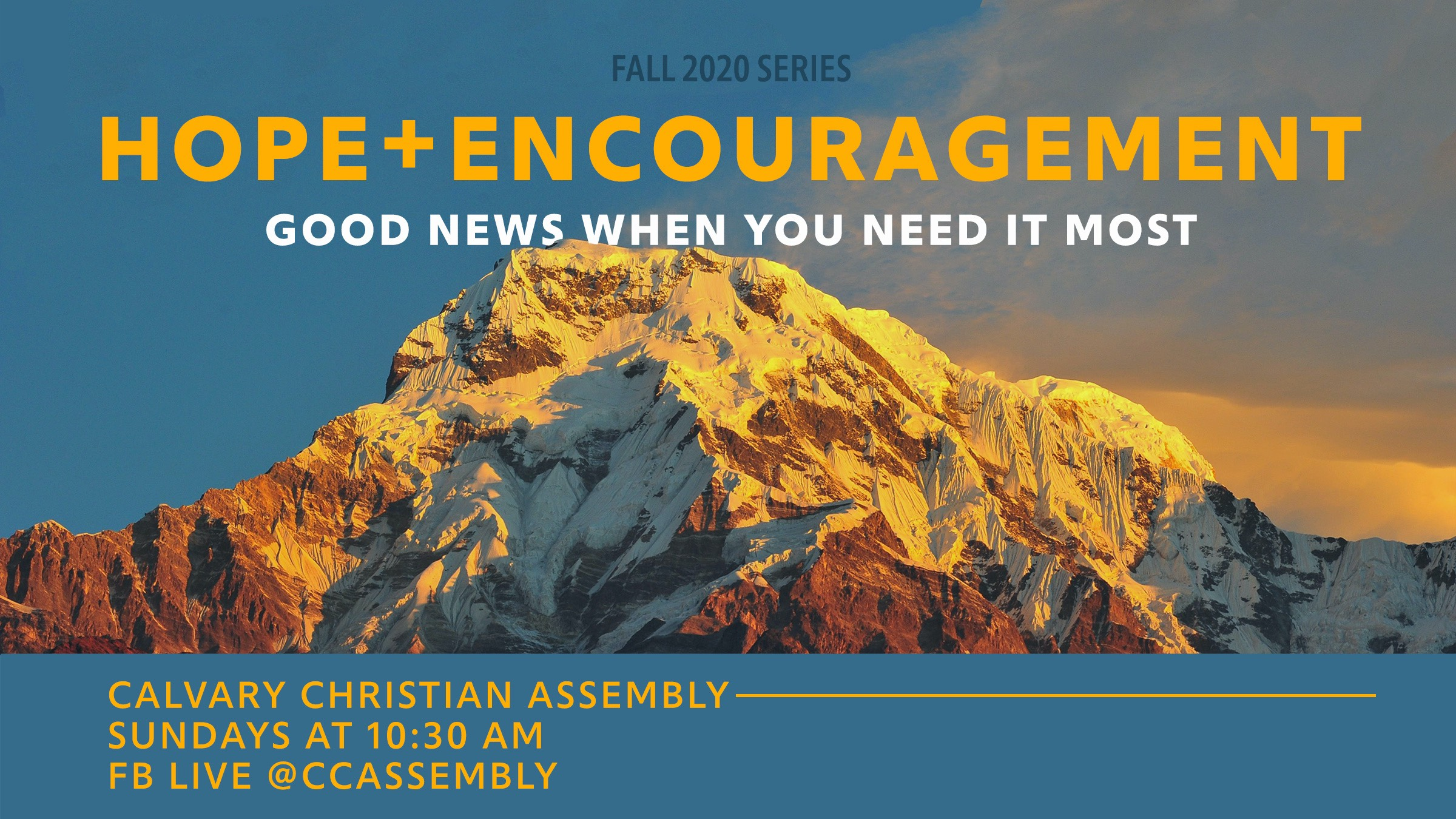 Hope + Encouragement: Good News When You Need It Most Part 8